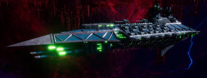 Chaos Battle Cruiser - Hades (Alpha Legion Sub-Faction)