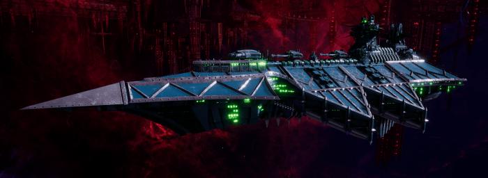 Chaos Battle Cruiser - Styx (Alpha Legion Sub-Faction)