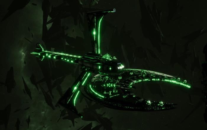 Necron Battle Cruiser - Scythe Reaper (Charnovokh Sub-Faction)