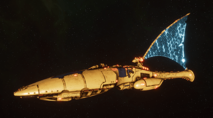 Asuryani Cruiser - Ghost Dragonship [Iyanden - Eldar Sub-Faction]