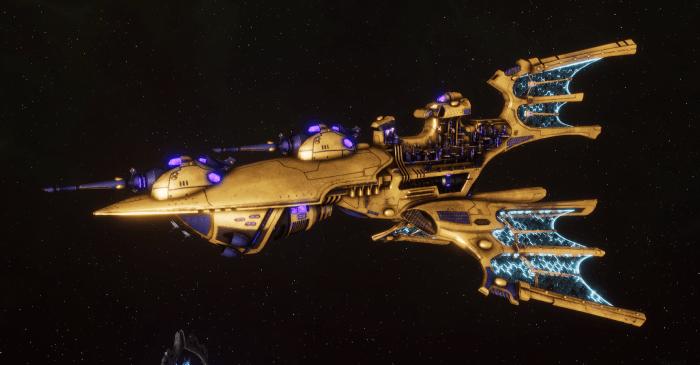Aeldari Corsair Light Cruiser - Aurora [Eldritch Raiders - Sub-Faction]
