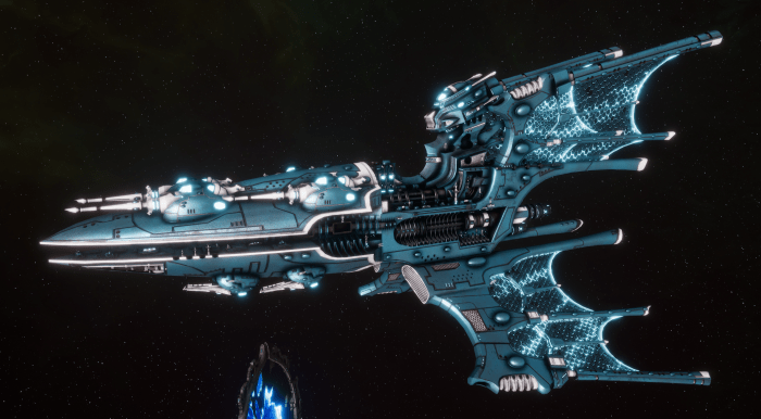 Aeldari Corsair Battleship - Voidstalker [Sky Raiders - Sub-Faction]
