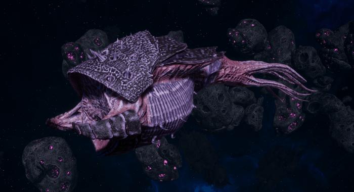 "Tyranid Frigate - ""Bio Projectile Kraken"" - [Hyrda Sub-Faction]"
