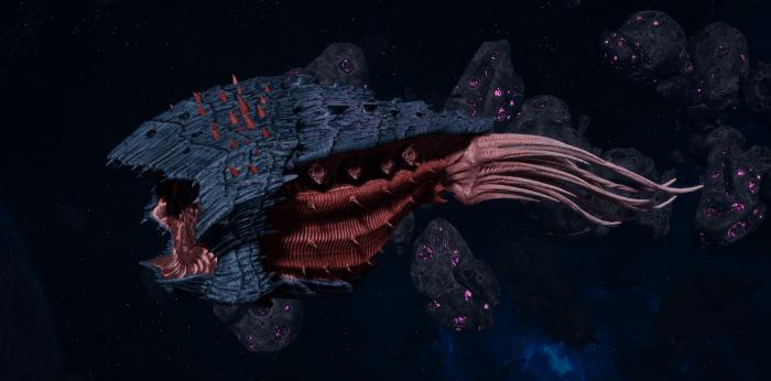 "Tyranid Cruiser - ""Bio Projectile Razorfiend"" - [Behemoth Sub-Faction]"