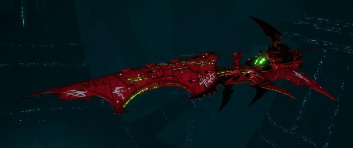Drukhari Raider Battleship - Falling Moon - [Ynnari Sub-Faction]