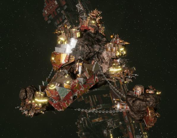 Ork Roks - [Ork Pirates Sub-Faction]