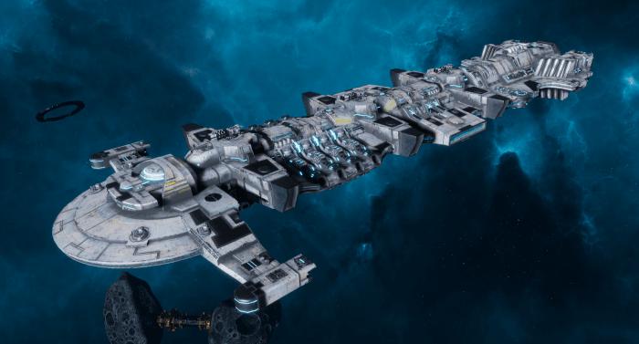 "Tau Merchant Fleet Battleship - ""Gal'Leath Bor'Kan"" - [Tau'n Sub-Faction]"