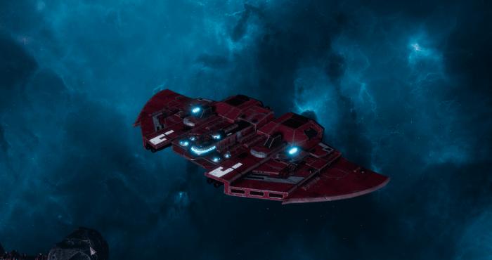 "Tau Protector Fleet Frigate - ""Castellan"" - [Farsight Enclave Sub-Faction]"
