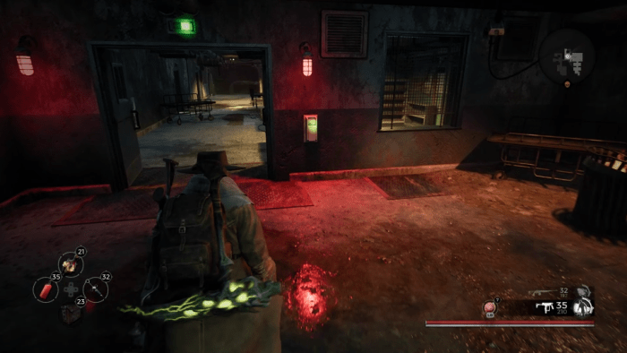 Level B2 of Ward 13. You can open these doors using the Ward 13 Keycard found in the Founder's Hideout, which is the first location in story mode on Earth.