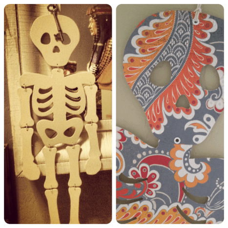 Jointed Paper Skeleton Craft for Halloween and Day of the Dead