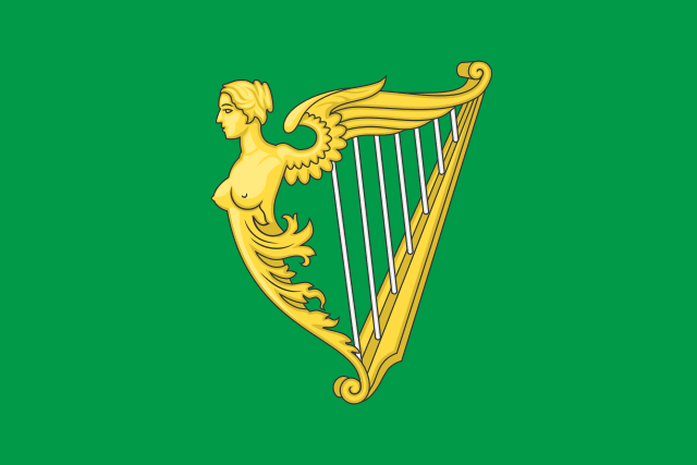 Flag of the Society of United Irishmen.