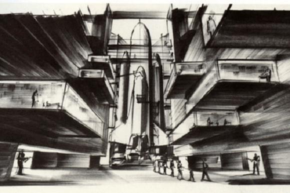 Ken Adam's Design for Moonraker