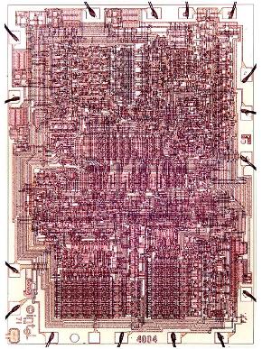4004 layout