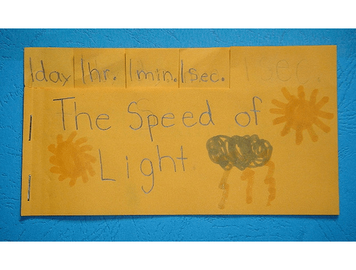 speed of light tabbed book