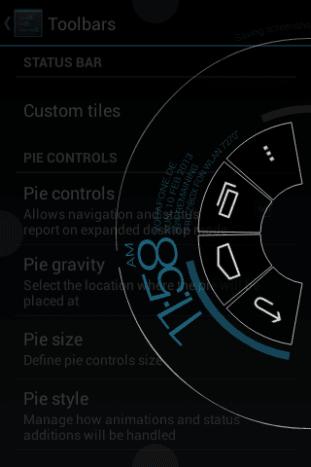 The PAC menu rotator.