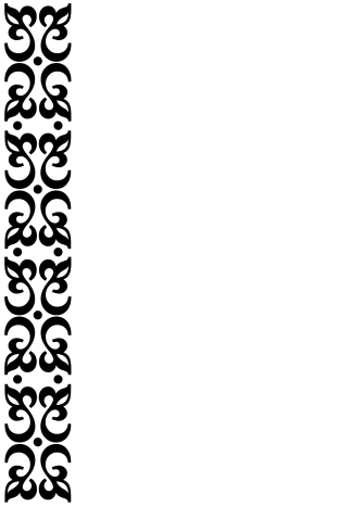 "Free 5"" x 7"" black and white scroll work border invites"