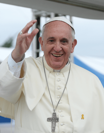 Pope Francis in the Republic of Korea, 2014.