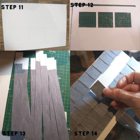 Steps 11 through 14.