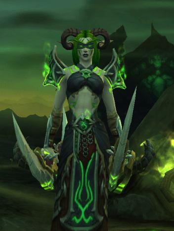 Alliance Night Elf Demon Hunter