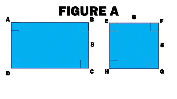 Figure A: How to Know If Two Polygons Are Similar