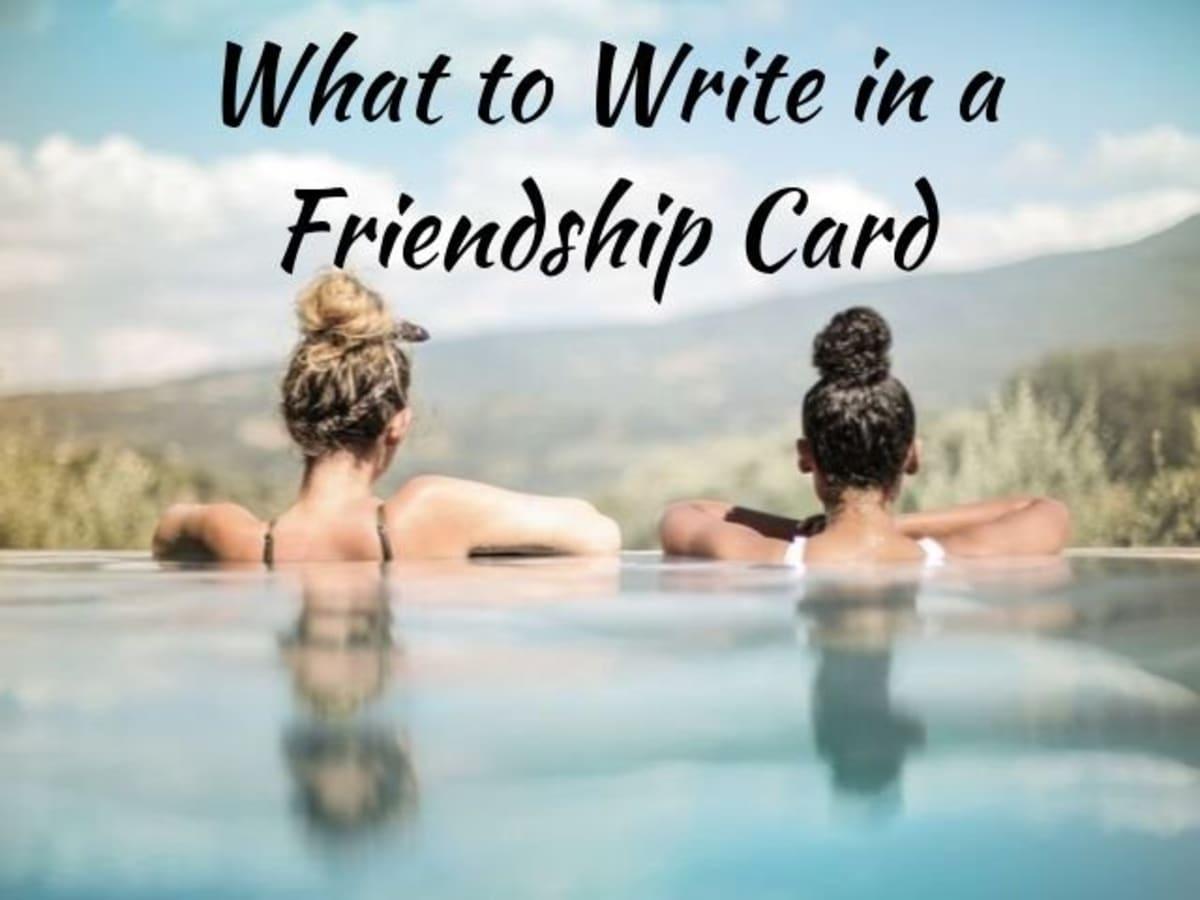Sayings greeting card best friend 75 Sayings