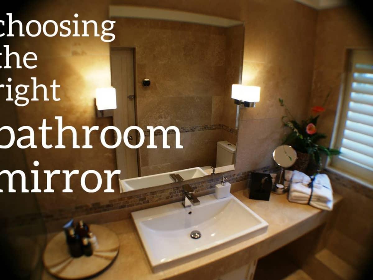 Sizing The Mirror Above Your Bathroom Vanity Dengarden Home And Garden