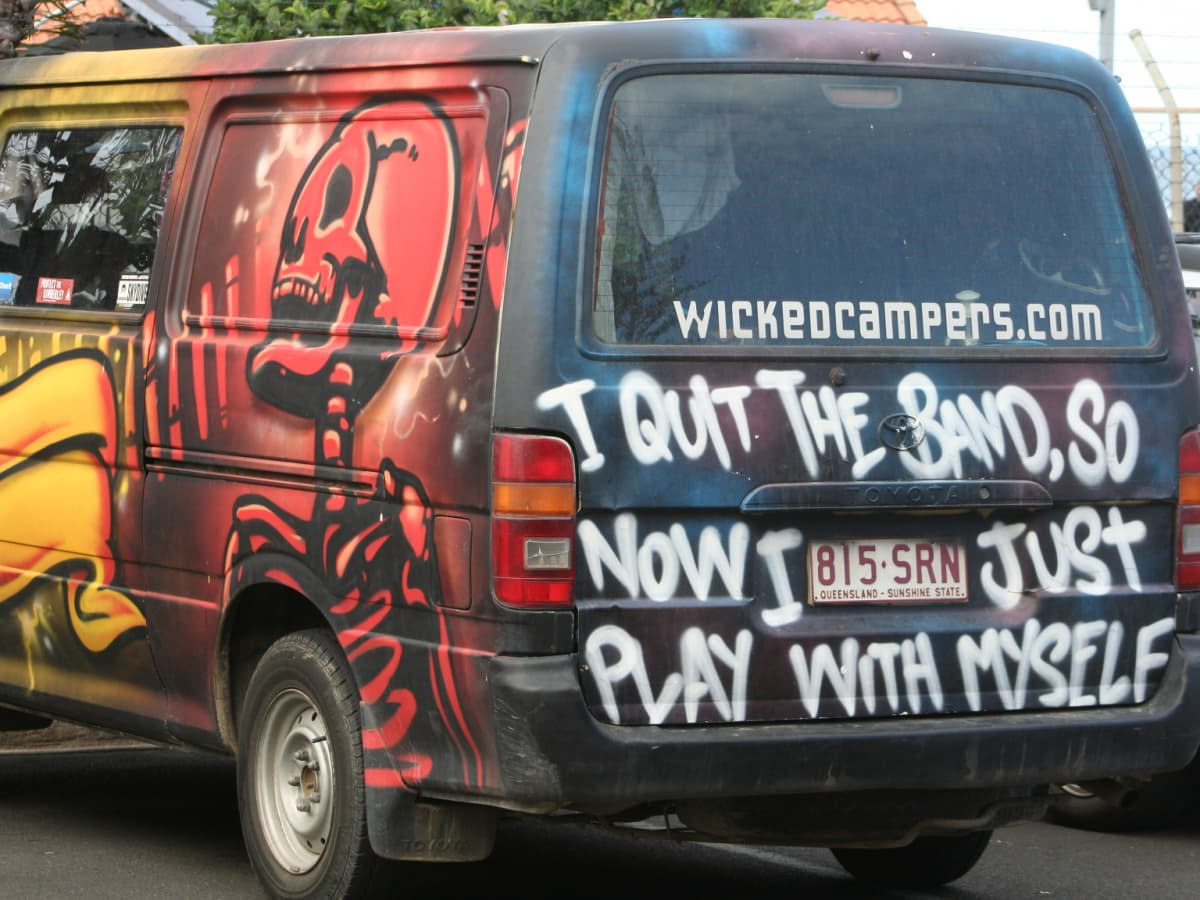 Naked girls in vans Five Ways Wicked Camper Rentals Can Ruin Your Holidays Wanderwisdom