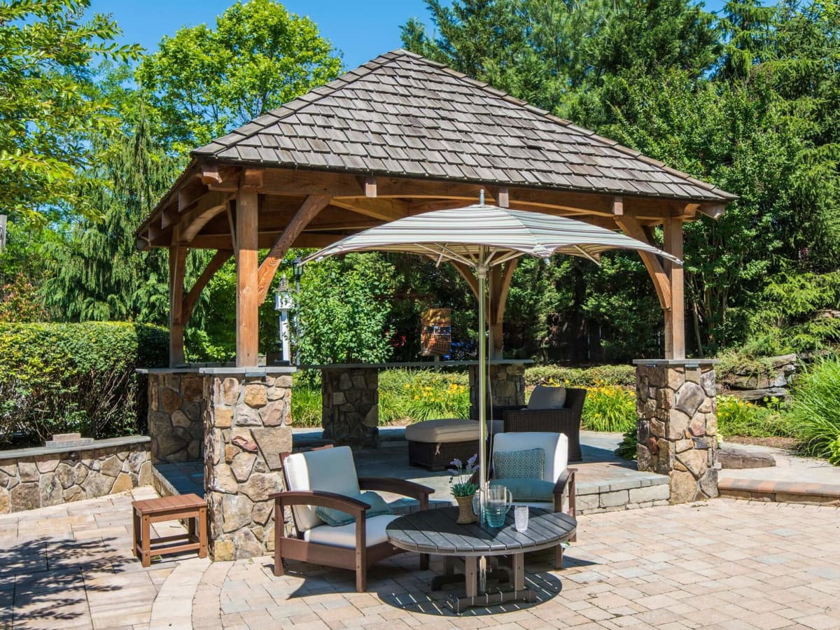 Stylish Shade Ideas For Your Patio Dengarden Home And Garden