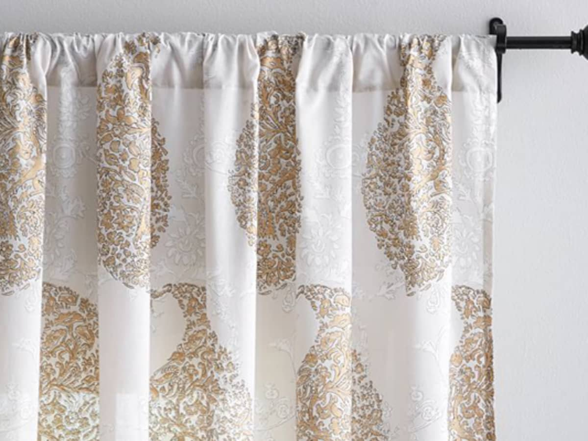 How To Make Fabulous Curtains Out Of Bed Sheets Dengarden Home And Garden