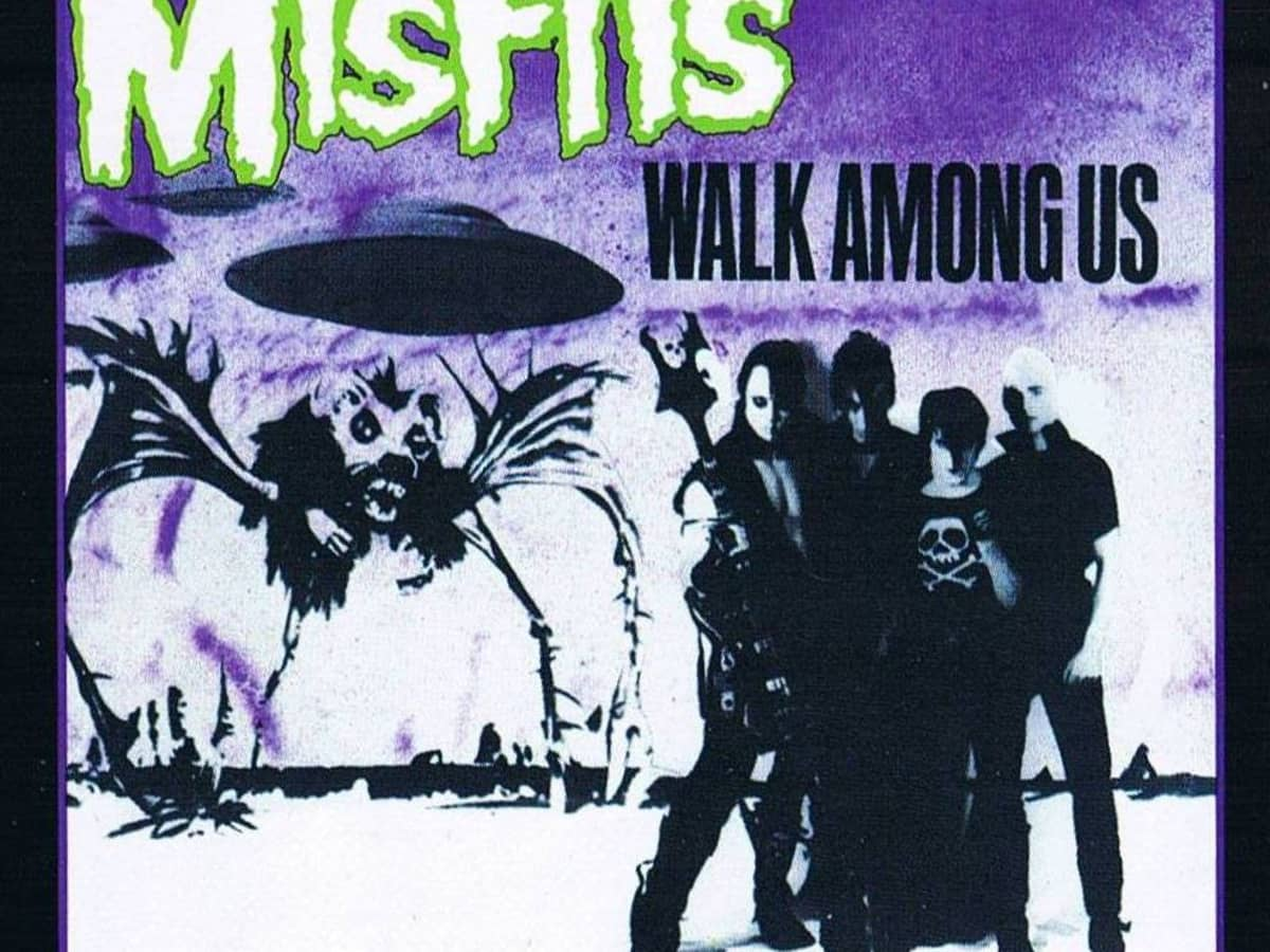 """Misfits, """"Walk Among Us"""" Album Review - Spinditty"""