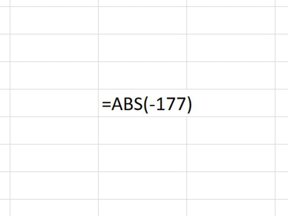How to Use the ABS Function in Excel   TurboFuture