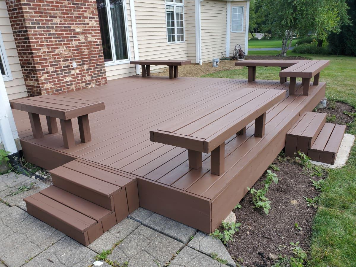 Tips For Applying Solid Deck Stain Dengarden