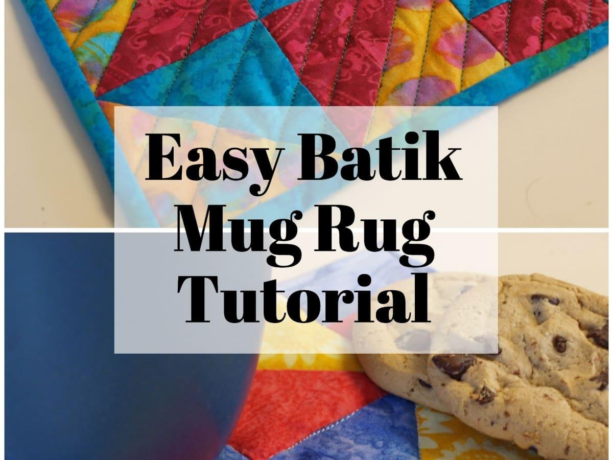 How To Make A Mug Rug Feltmagnet Crafts
