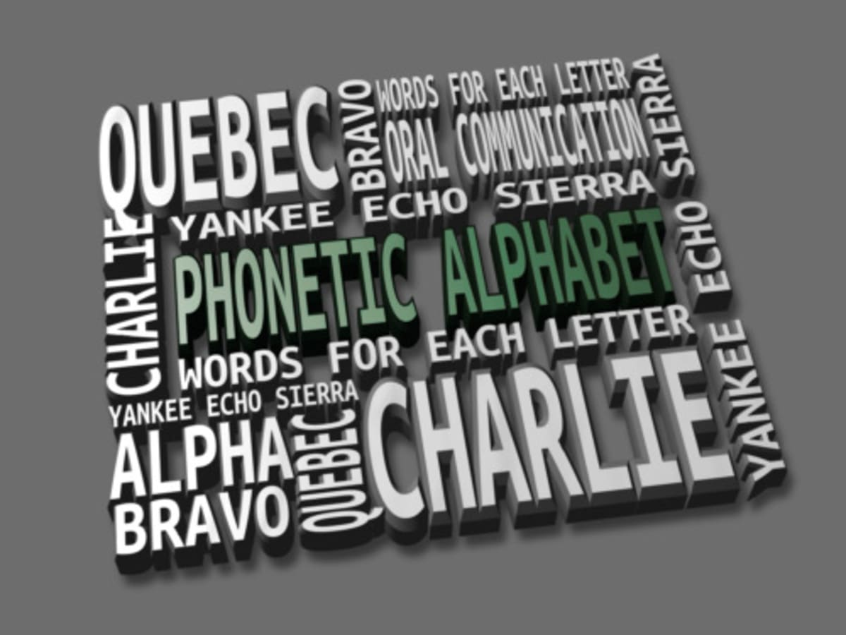 What Is The Phonetic Alphabet Owlcation Education