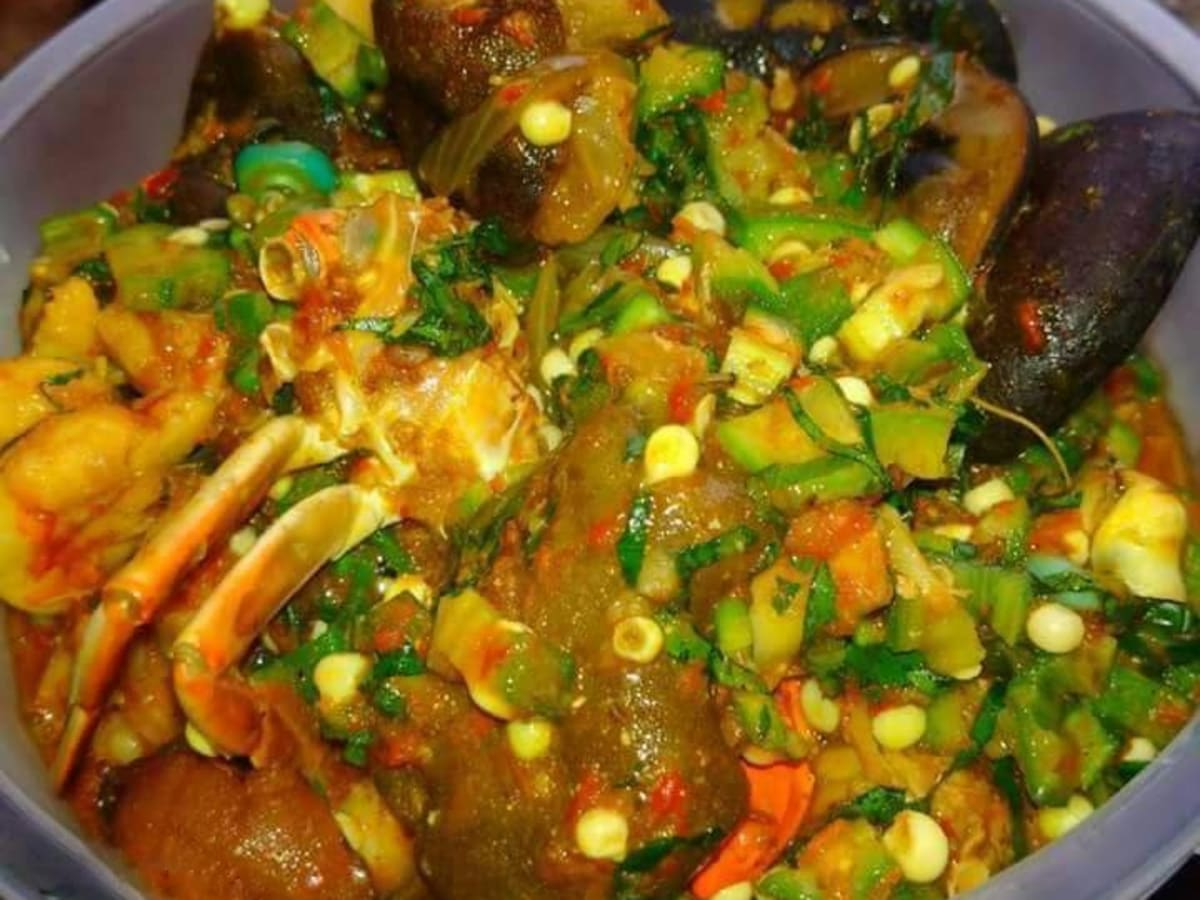 How To Make Nigerian Okra Stew Okro Soup Delishably Food And Drink