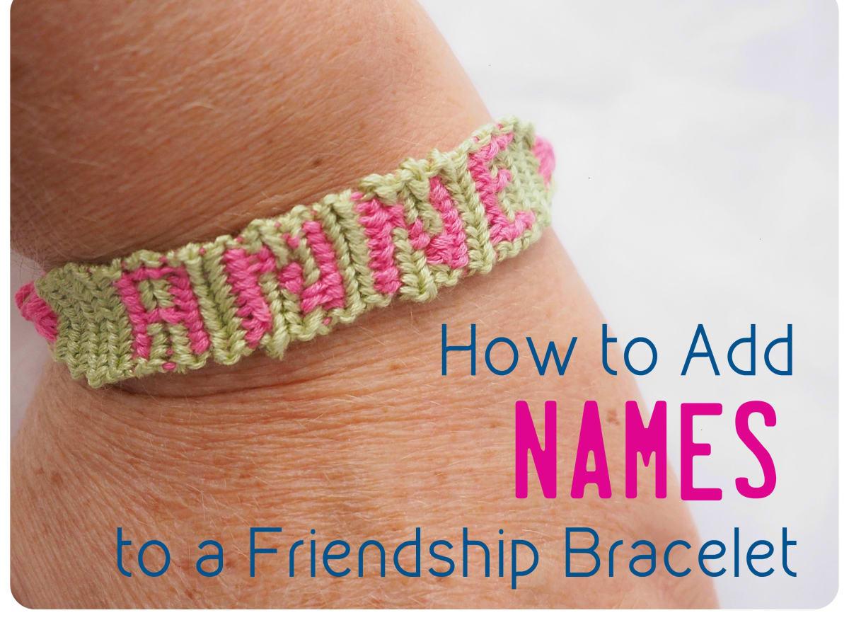 Personalised Beaded Bracelet  Name Bracelet  Custom Word  Friendship Bracelets