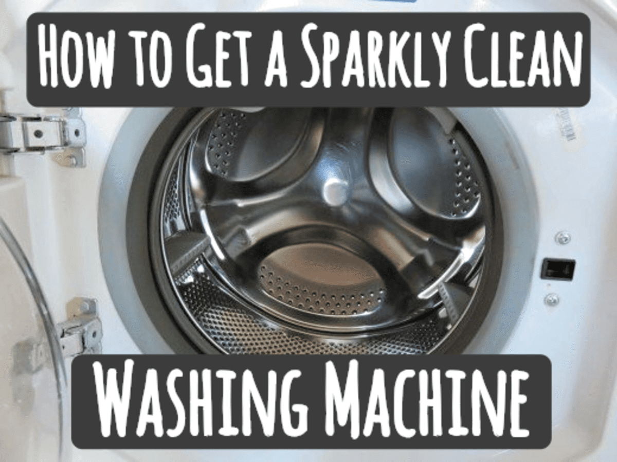 How To Clean And Sanitize Your Washing Machine Inside And Out Dengarden Home And Garden
