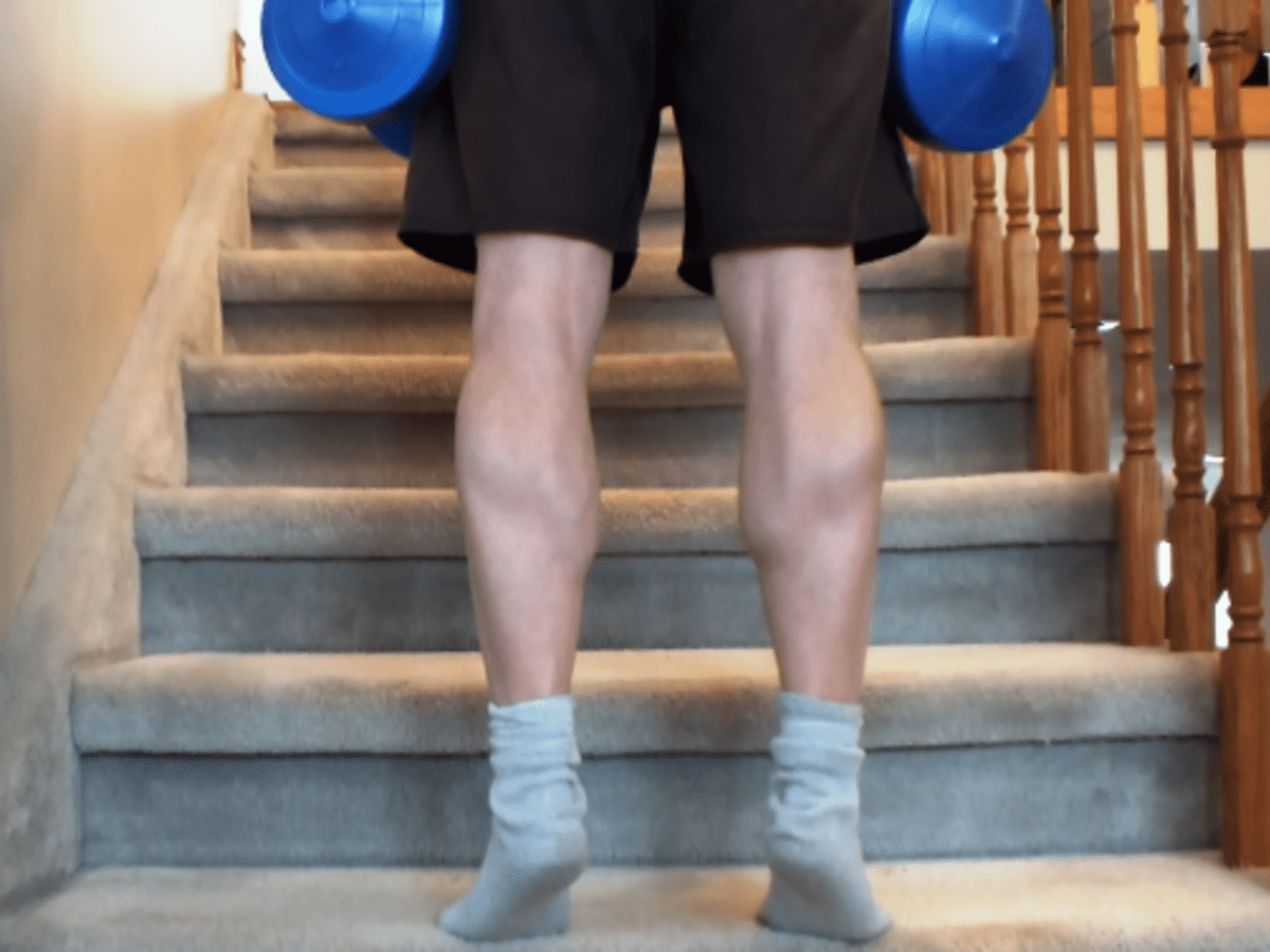 How to make your calf muscles bigger at home