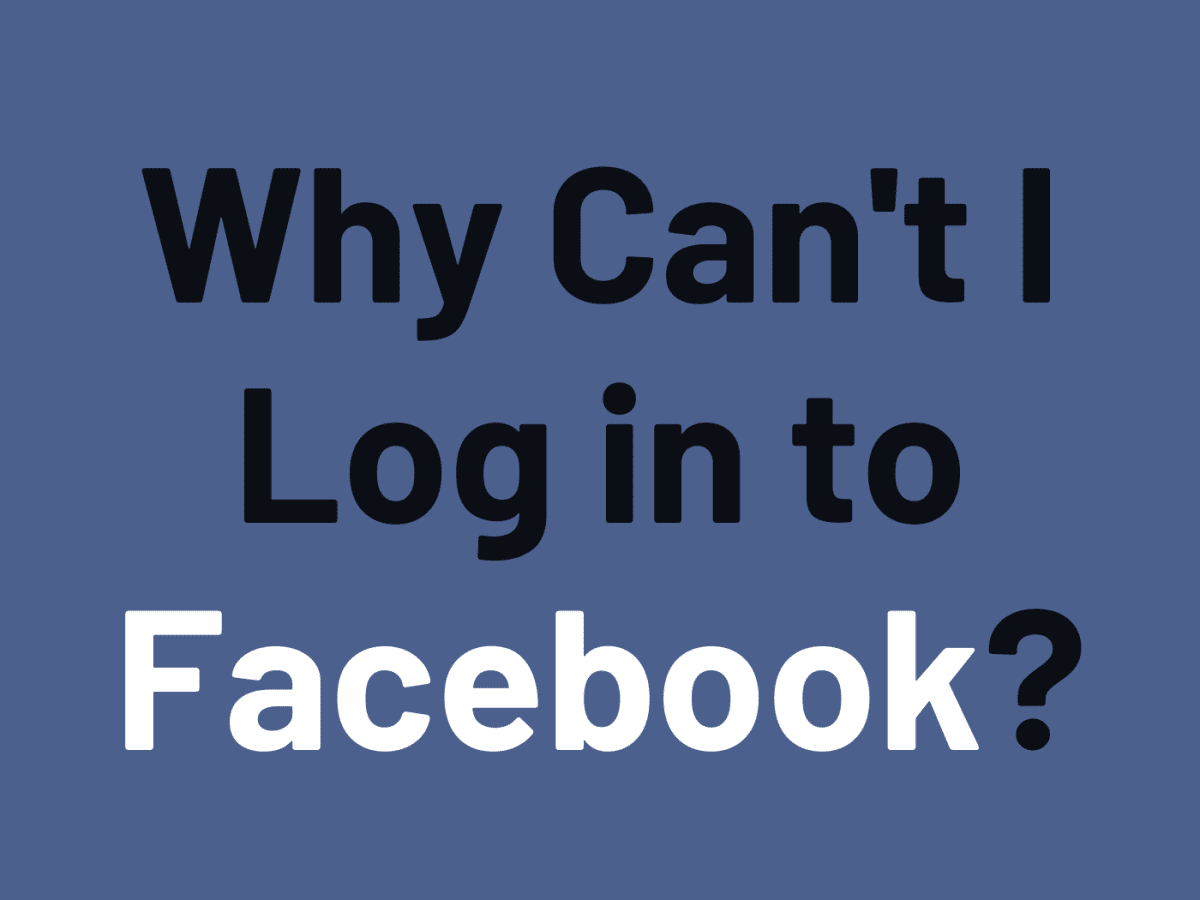Identity your facebook problem confirm login How to