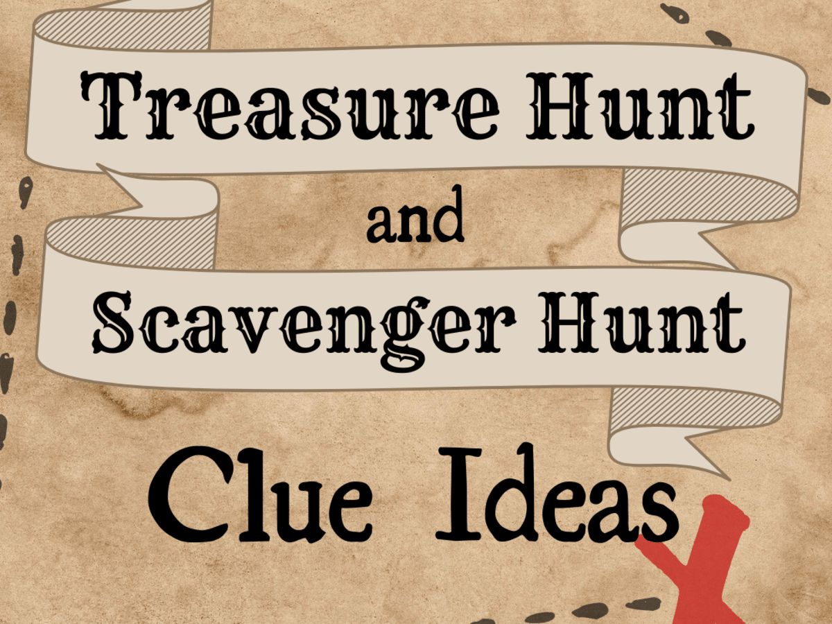10 Best Treasure Hunt And Scavenger Hunt Clue Ideas Hobbylark Games And Hobbies