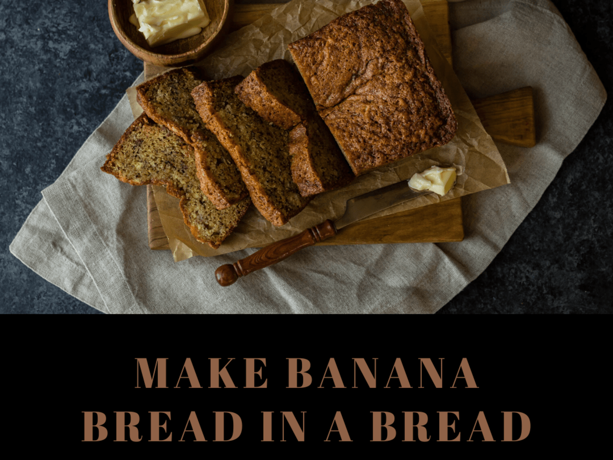How To Make Banana Bread In A Bread Maker Machine Delishably Food And Drink