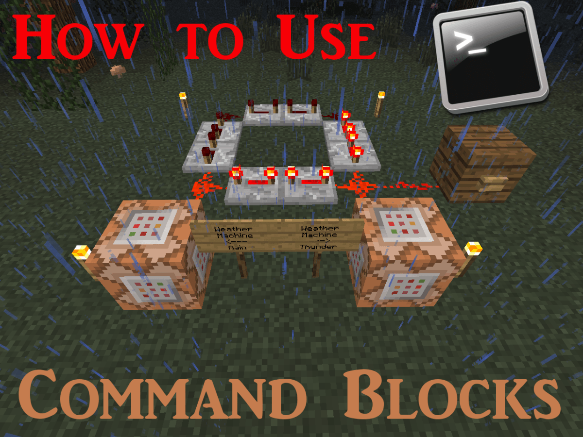 """How to Use Command Blocks in """"Minecraft"""" - LevelSkip - Video"""
