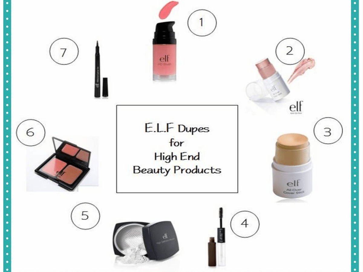 Best E L F Cosmetics 7 Dupes For High
