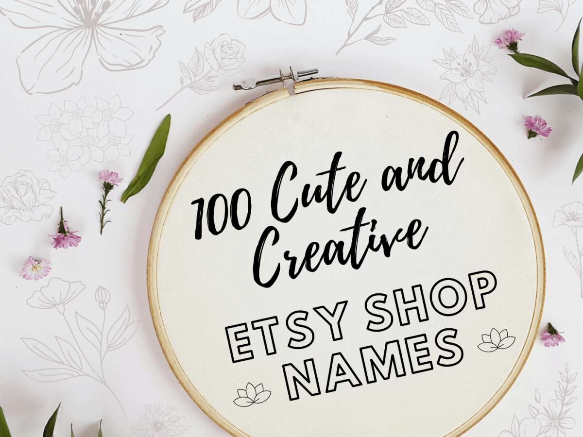 100 Crafty Etsy Shop Name Ideas Toughnickel Money