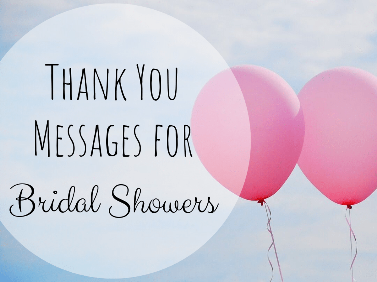 Bridal Shower Thank You Note