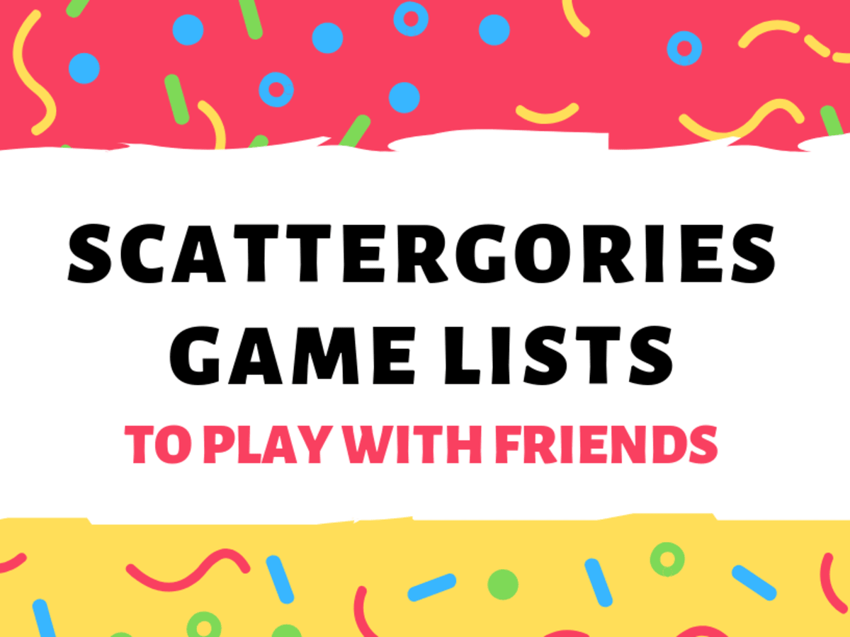Scattergories Lists To Play With Your Friends Hobbylark Games And Hobbies