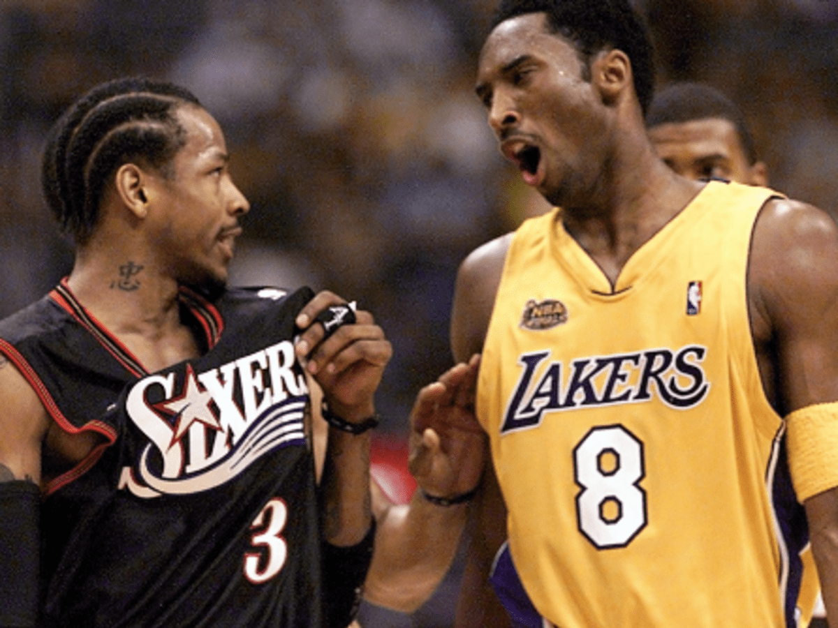 Greatest Nba Finals Performances Allen Iverson Scores 48 In Game 1 2001 Howtheyplay Sports