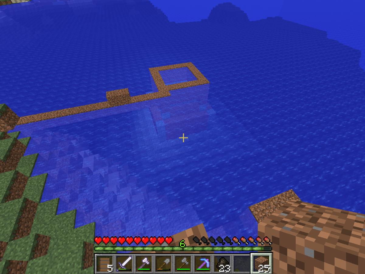 Minecraft Clearing an Ocean Monument - HubPages