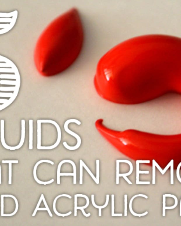 various-ways-to-remove-dried-acrylic-paint