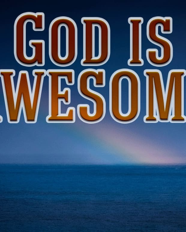 god-is-an-awesome-god